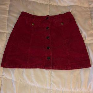 High waisted vintage skirt